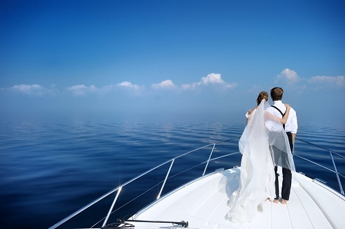Mallorca Wedding on a Boat Yacht